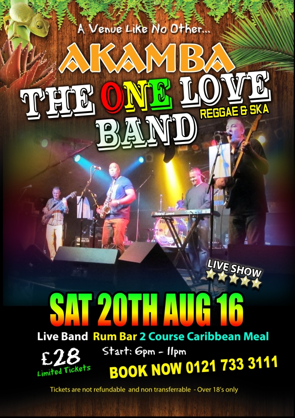 The One Love Band 20th August (1)